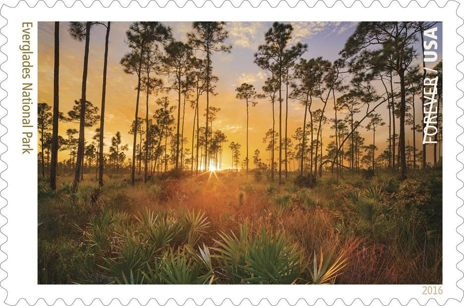 Everglades Forever Stamp April 2016