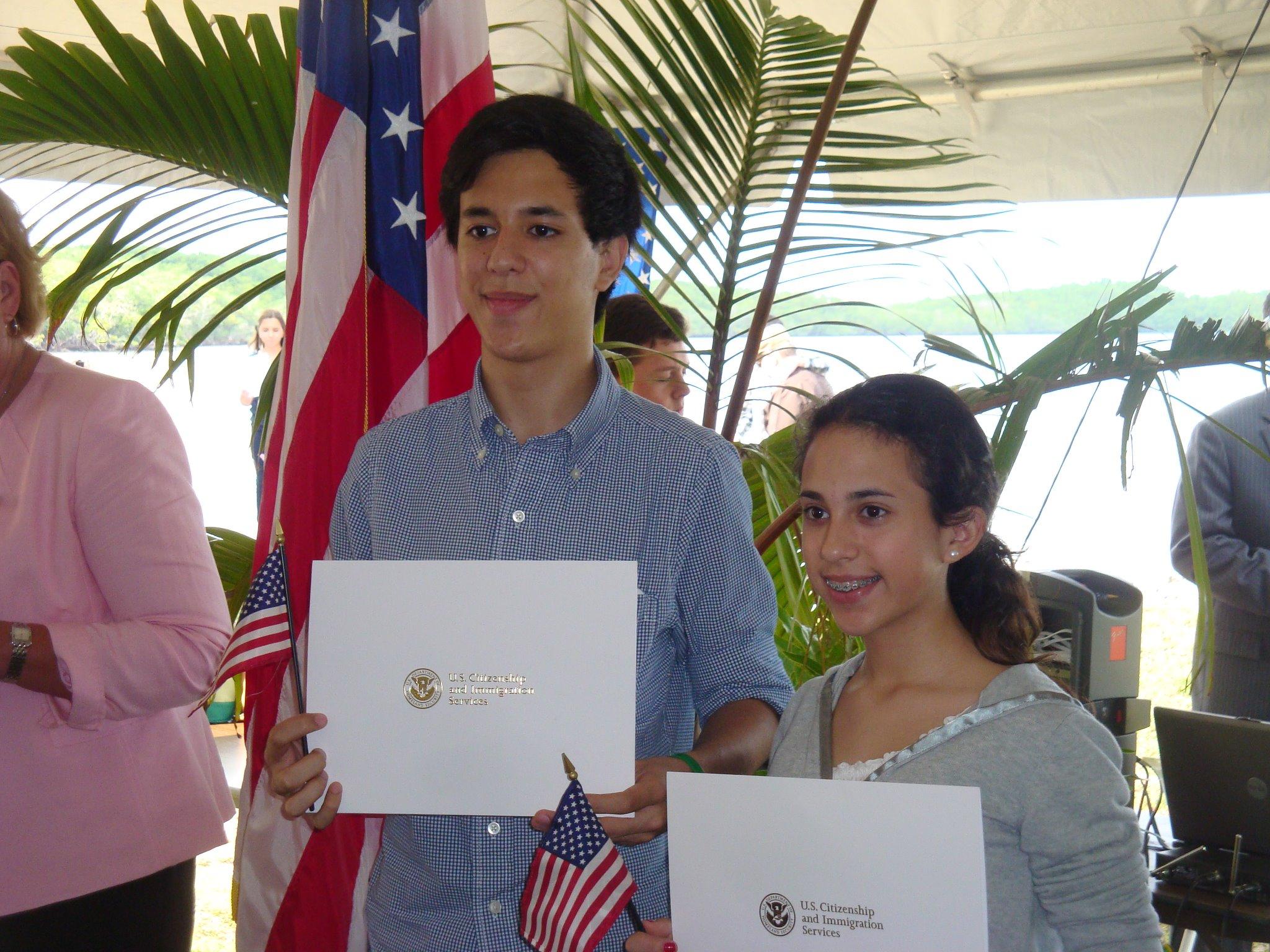 BISC Citizenship Ceremony 2012